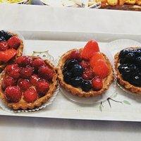 Handmade fruit tarts ♥️♥️♥️