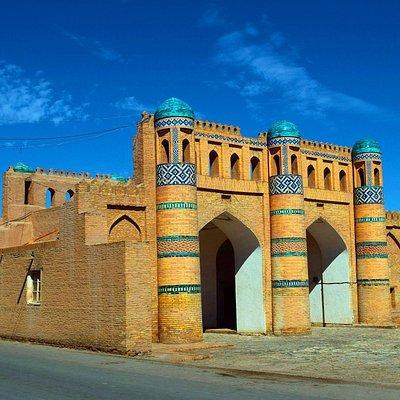 Хива. Северные ворота внешних укреплений цитадели