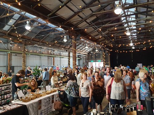 The Makers Market Toowoomba. Perfect Sunday morning brekky and shop