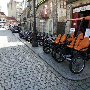 Garaje pedales
