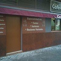 Fachada Cafetería La Picota III