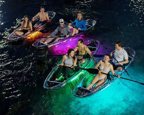 Glow Kayaking on the San Marcos River