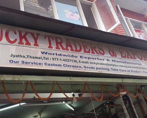This is lucky traders door