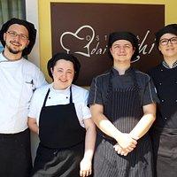 Alex, Mara, Mirko, Silvia. Un team, pura sinergia