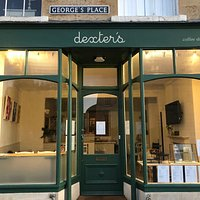 dexter's coffee shop frontage