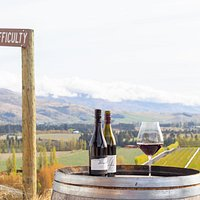 Mt Difficulty and Roaring Meg Pinot Noir available for tastings and bottles to take away.