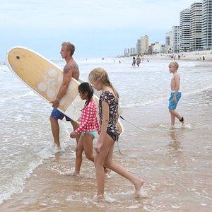 Fun Surf Lesson!!