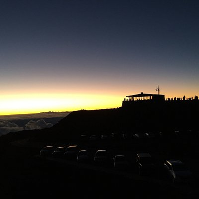 Beginning of Dawn at the Summit
