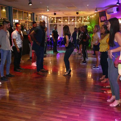 Kizomba class at our new and improved location!