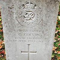 4.  Commonwealth War Grave, St Augustine's Church, Flimwell, East Sussex