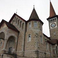 Pfarrkirche Herz Jesu à Goldau (SZ) - vue extérieure