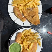 Fish and chips to feed a family