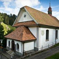 Chapelle de pèlerinage Maria zum Schnee au Rigi Klösterli - vue extérieure