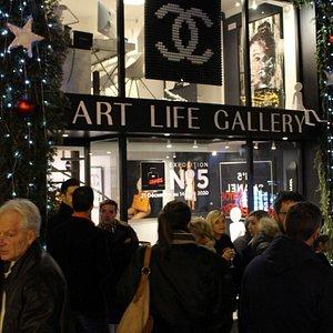 Vernissage Art Life Gallery 21 décembre 2019