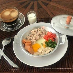 Breakfast Thai style