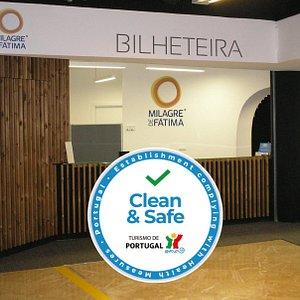 Fomos certificados pelo Turismo de Portugal com o seu selo Clean&Safe, pois cumprimos todas as regras de higiene e segurança.