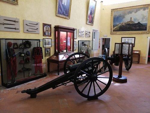 Intreno del Museo: Sala II Guerra d'Indipendenza