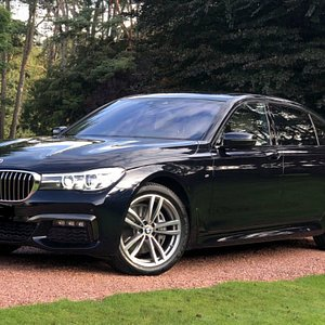 We also have the BMW 740 Series, an alternative to Mercedes S Class and indeed in the same category as a luxury chauffeur car.
