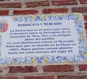 Barbacana, Mercado Municipal 1882