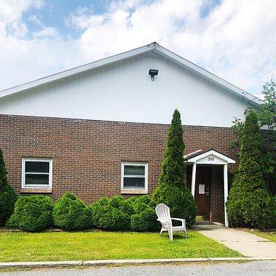Adirondack Winery Headquarters & winemaking facility in Queensbury, NY.