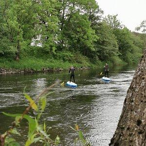 Paddle in the djungle like swedish streams!