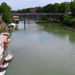 il ponte Pietro Nenni visto dal ponte Matteotti