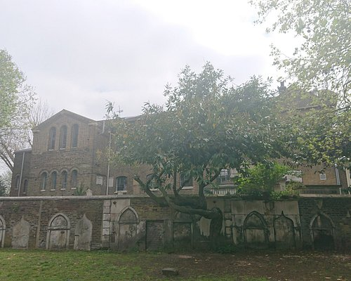 View from the Lower Churchyard