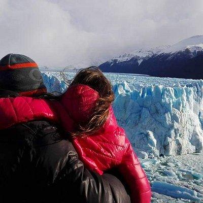 Glaciar Moreno pasarelas. Parque Nac Los Glaciares