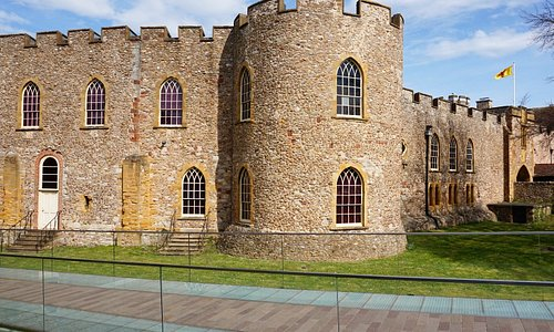 Taunton's 12th Century Castle is home to the Museum of Somerset.