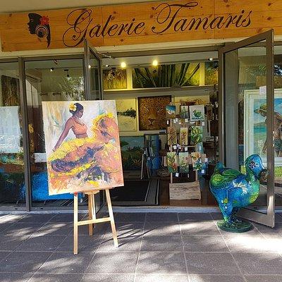Galerie Tamaris Tableaux et Sculpture de Collection 100% mauriciens