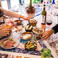 Tapas à partager   Z Restaurant Tapas Food&Share Nice centre  Promenade des Anglais, restaurant à tapas, bar à tapas, restaurant d'ambiance