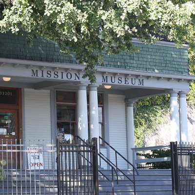 The Mission Museum is centrally located downtown at the intersection of Second Avenue and Welton Street, just one block up from Mission's numerous local restaurants and retailers.