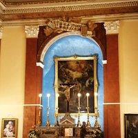 L'altare maggiore della Chiesa.