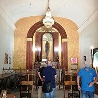 Il primo vano cui si accede dall'ingresso principale, originaria sede della chiesa poi ampliata.