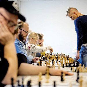 Simultaneous chess are among the events that happen in The Green House