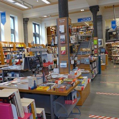 Charleroi, Librairie Molière