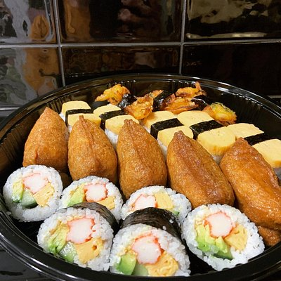 No Meat Mixed Sushi Catering Platter