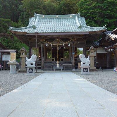 早馬神社拝殿