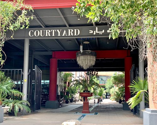 Total Arts is located at the Courtyard, the artistic hub in the industrial part of Dubai.