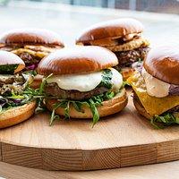 Burger selection