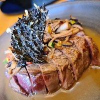 Le steak japonais tendre et.savoureux