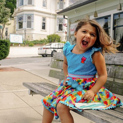 Our daughter loves her handmade dresses from Aurelia's Boutique in Pacific Grove, California!