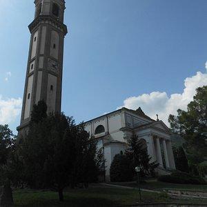 chiesa e campanile di Lozzo Atestino