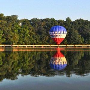 Hot Air Ballon Ride at Lake Linganore