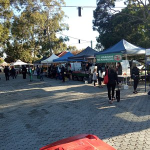 Dingley Village Farmers' Market is set among the gum trees of the Dingley Village Neighbourhood Center forecourt.  Third Saturday of the month