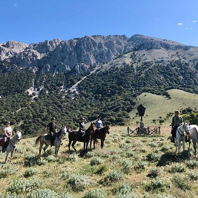 Madonie mountains on horseback
