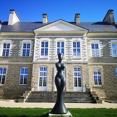 Face principale du Château
