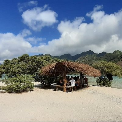 Our private islet