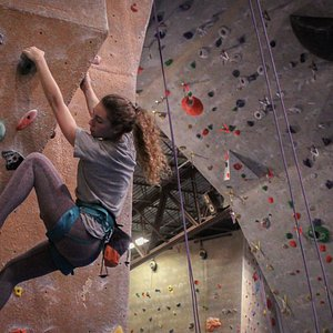 Discover indoor rock climbing! Routes available for all levels of climber from beginner to advanced!