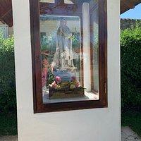 Capilla Nuestra Señora de Fàtima: Barrio Piedras Blancas Arriba- Villa de Merlo- Provincia de San Luis- Argentina 2020.